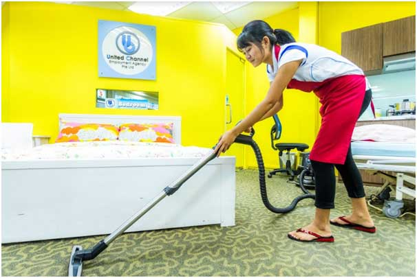 Indonesian maids are believed to be hard-worker and fast learner