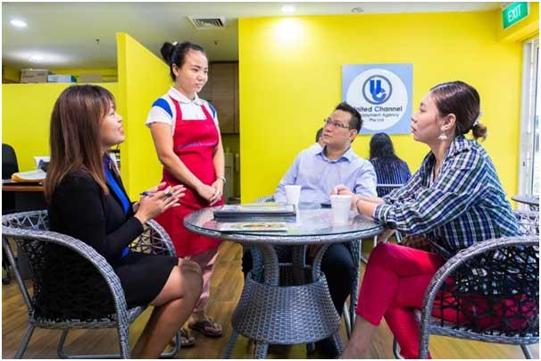 Indonesian maids are quite popular in Singapore