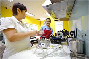 cooking training maid agency indonesian maid