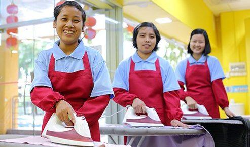 maid agency training