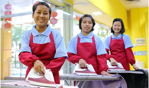 Maid agencies have both new and transfer maids