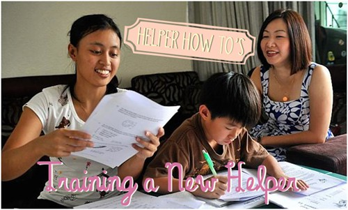 How to train and manage your Singapore domestic helper