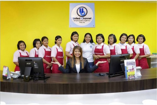 Several maids to hire in United Channel maid agency
